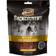 Merrick Backcountry Wild Fields Real Chicken Jerky Dog Treats, 4.5-oz bag