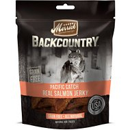 Merrick Backcountry Grain-Free Pacific Catch Real Salmon Jerky Dog Treats, 4.5-oz bag