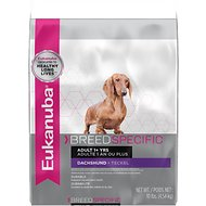 Eukanuba Breed Specific Dachshund Adult Dry Dog Food, 10-lb bag