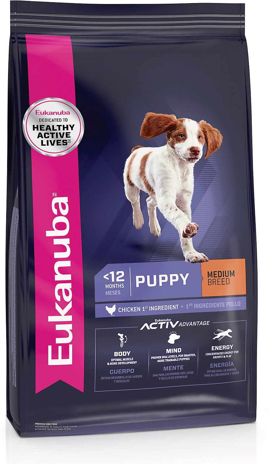 Eukanuba Puppy Food >> Eukanuba Puppy Chicken Formula Dry Dog Food, 33-lb bag - Chewy.com