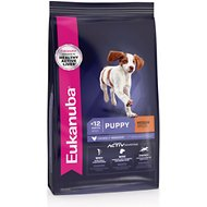 Eukanuba Puppy Medium Breed Chicken Formula Dry Dog Food, 33-lb bag
