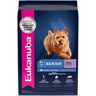 Eukanuba Small Breed Senior Dry Dog Food, 15-lb bag