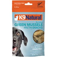 K9 Natural Green Lipped Mussel Freeze-Dried Snacks Dog Treats, 1.76-oz bag