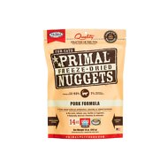 Primal Pork Formula Nuggets Grain-Free Raw Freeze-Dried Cat Food, 14-oz bag