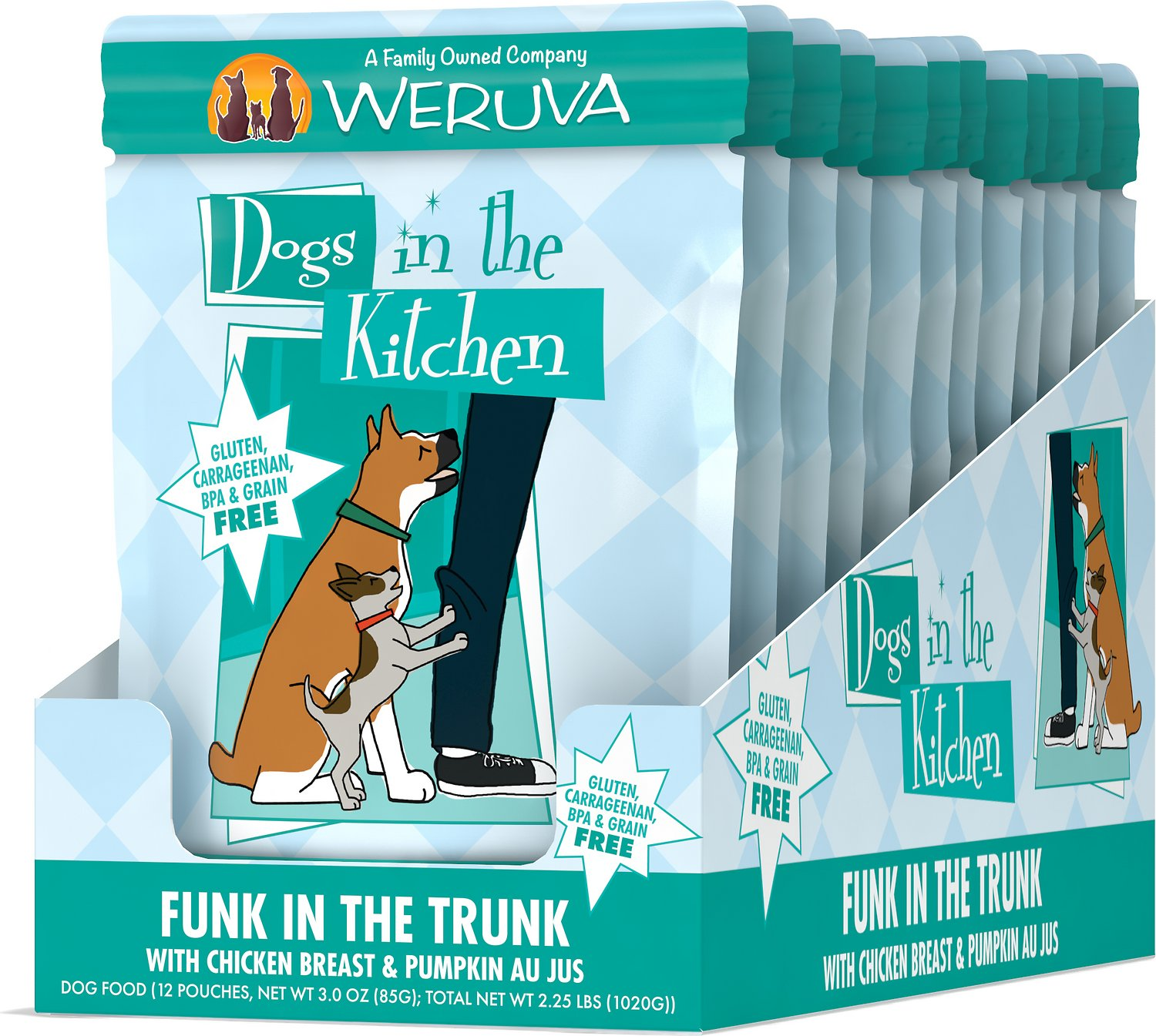 Weruva Dogs in the Kitchen Funk in the Trunk with Chicken Breast ...