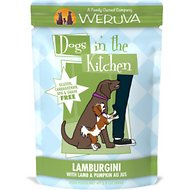 Weruva Dogs in the Kitchen Lamburgini with Lamb & Pumpkin Au Jus Grain-Free Dog Food Pouches, 2.8-oz, case of 12