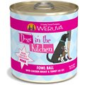 Weruva Dogs in the Kitchen Fowl Ball with Chicken Breast & Turkey Au Jus Grain-Free Canned Dog Food