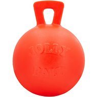 Jolly Pets Tug-n-Toss Dog Toy, Orange, 10-in