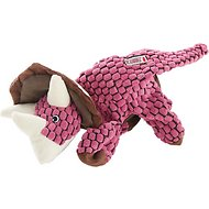 KONG Dynos Triceratops Dog Toy, Small