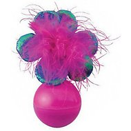 KONG Bat-a-Bout Flower Cat Toy, Color Varies