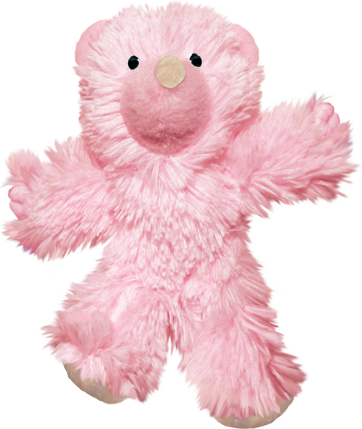 KONG Kitten Teddy Bear Cat Toy, Color Varies By KONG
