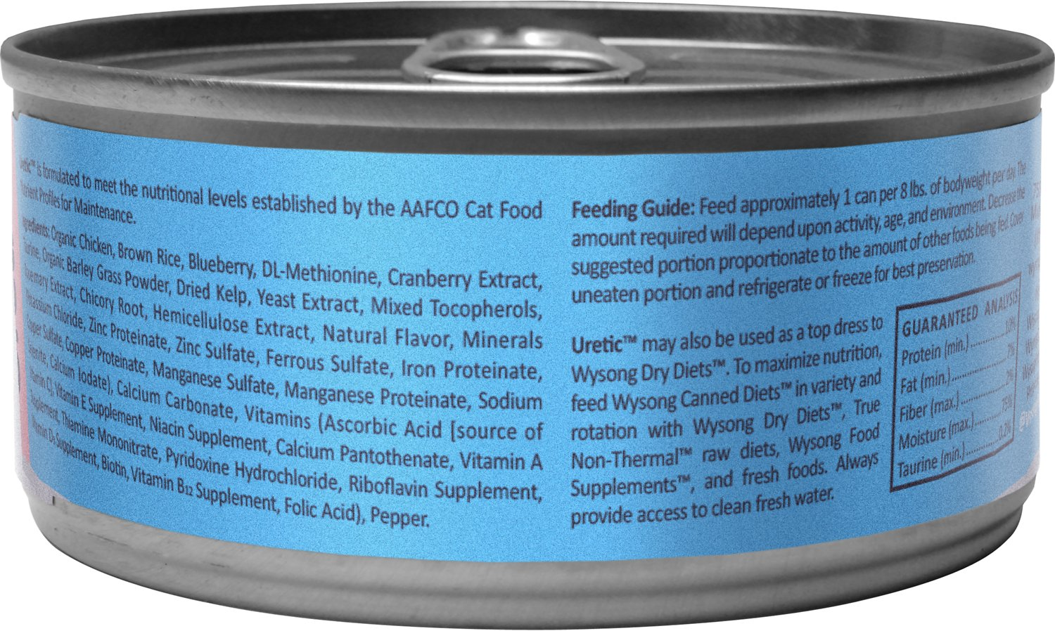 Wysong Uretic Cat Food Review