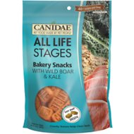 CANIDAE Life Stages Bakery Snacks with Wild Boar & Kale Dog Treats, 14-oz bag