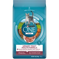 Purina ONE Urinary Tract Health Adult Formula Dry Cat Food, 7-lb bag