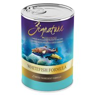 Zignature Whitefish Limited Ingredient Formula Grain-Free Canned Dog Food, 13-oz, case of 12
