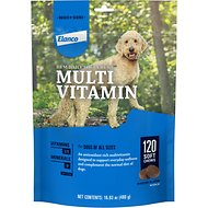 DVM Daily Soft Chews Multi Vitamin for Dogs, 120-count bottle