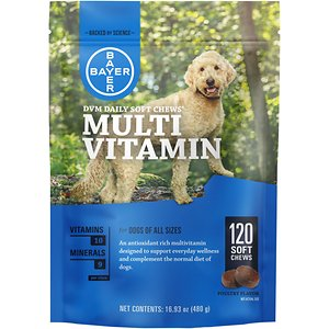 DVM Daily Soft Chews Multi Vitamin for Dogs