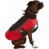 Ultra Paws Fleece Lined Reflective Comfort Coat for Dogs, Medium