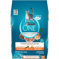 Purina ONE Tender Selects Blend with Real Chicken Dry Cat Food, 16-lb bag