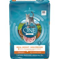 Purina ONE Healthy Metabolism Adult Dry Cat Food, 16-lb bag