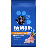 Iams Proactive Health Senior Plus Dry Dog Food, 6-lb bag