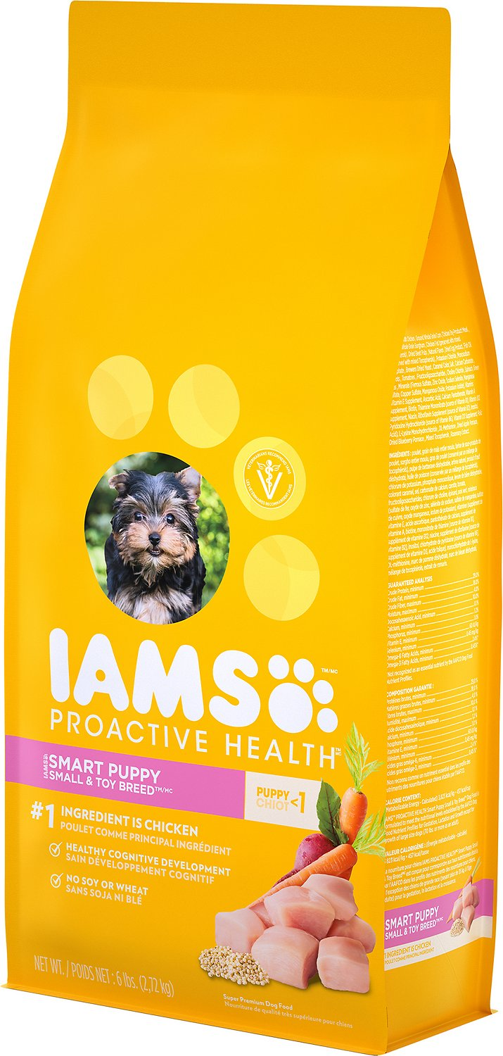 Iams Smart Puppy Small Breed Dog Food