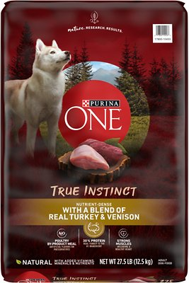 Purina ONE SmartBlend True Instinct with Real Turkey & Venison Adult Dry Dog Food