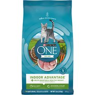 Purina ONE Indoor Advantage Adult Dry Cat Food, 7-lb bag