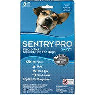 Sentry Pro XFT11 Flea & Tick Squeeze-On Dogs 11-20 lbs