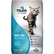 Nulo Freestyle Salmon & Lentils Recipe Grain-Free Adult Trim Dry Cat Food, 12-lb bag