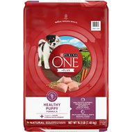 Purina ONE SmartBlend Healthy Puppy Formula Dry Dog Food, 16.5-lb bag
