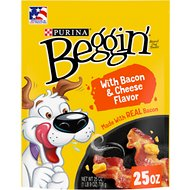 Beggin' Strips Bacon & Cheese Flavor Dog Treats, 25-oz bag