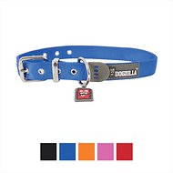 Dogzilla Nylon City Dog Collar, Blue, Medium