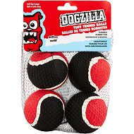 Dogzilla Tuff Tennis Ball, 2.5-In, 4 pack