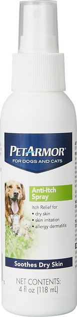 Petarmor Anti Itch Spray For Dogs Amp Cats 4 Oz Bottle