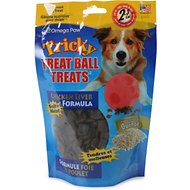 Omega Paw Tricky Treat Ball Chicken Flavor Dog Treats, 7-oz bag