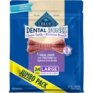 Blue Buffalo Dental Bones All Natural Large Dog Treats, 36-oz bag