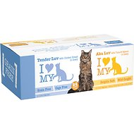 I Luv My Cat Aku Luv & Tender Luv Grain-Free Natural Variety Canned Cat Food, 5.5-oz, case of 24