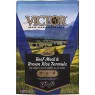 Victor Select Beef Meal & Brown Rice Dry Dog Food, 5-lb bag