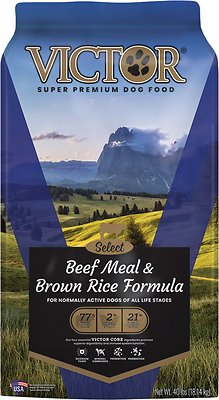 4. VICTOR Select Beef Meal & Brown Rice Dry Dog Food