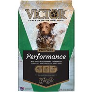 Victor Performance Formula Dry Dog Food, 40-lb bag
