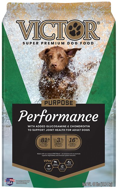 Victor Dog Food Reviews >> Victor Performance Formula Dry Dog Food, 40-lb bag - Chewy.com
