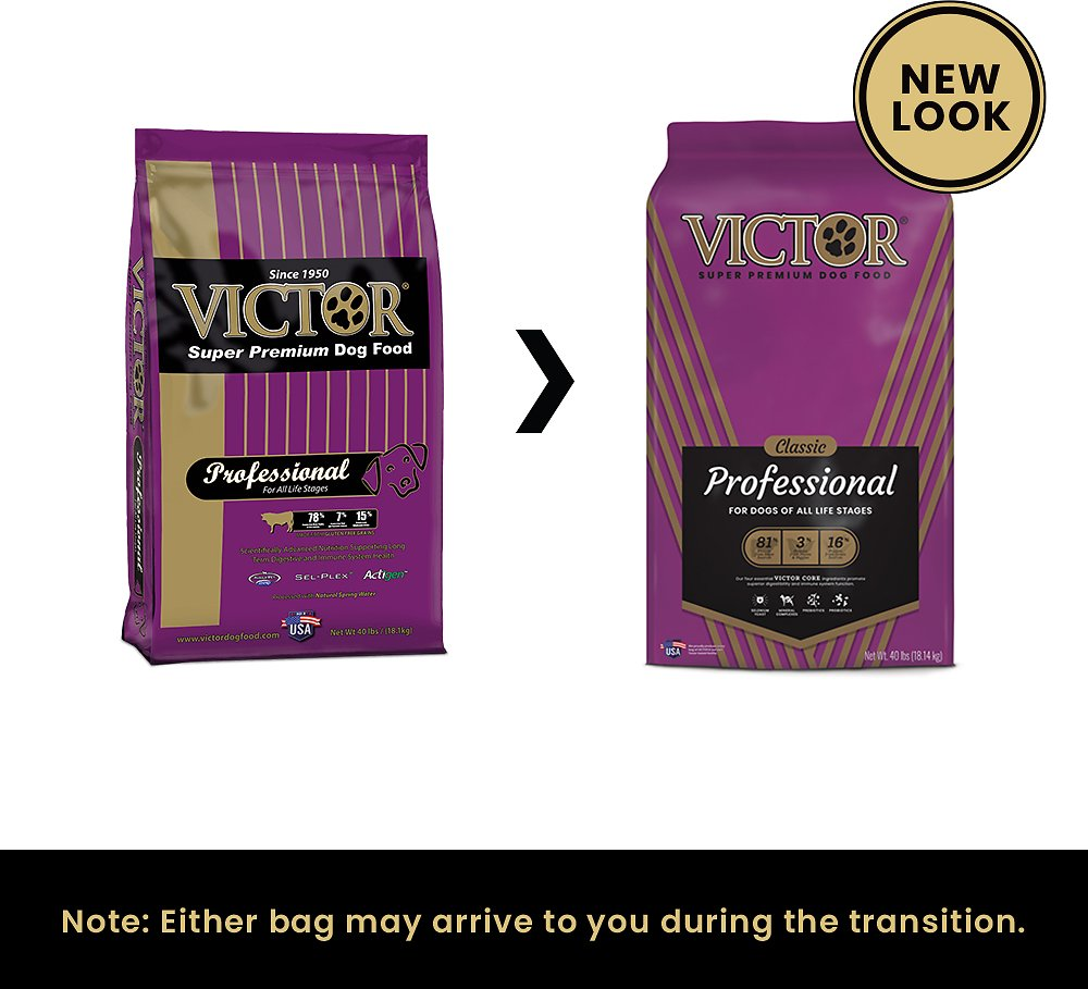 Victor Professional Dog Food Reviews