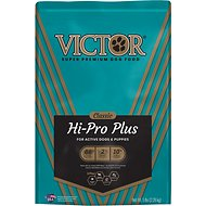 Victor Hi-Pro Plus Formula Dry Dog Food, 5-lb bag