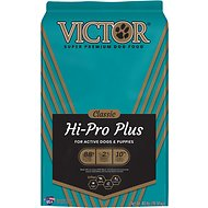Victor Hi-Pro Plus Formula Dry Dog Food, 40-lb bag