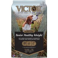 Victor Senior Healthy Weight Dry Dog Food, 40-lb bag