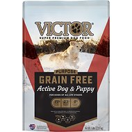 Victor Active Dog & Puppy Formula Grain-Free Dry Dog Food, 5-lb bag