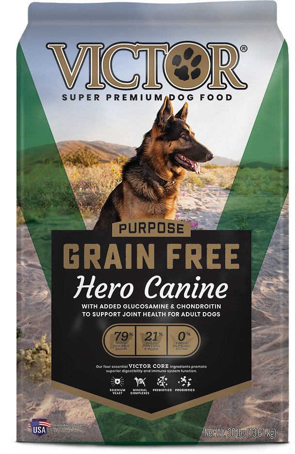 Victor Hero Grain-Free Dry Dog Food, 30-lb bag - Chewy.com