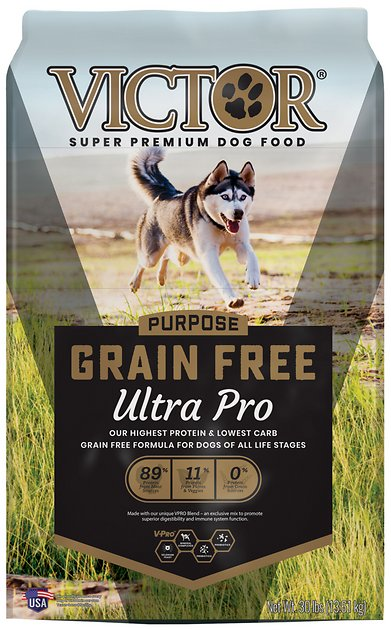 Victor Ultra Pro 42 Grain-Free Dry Dog Food, 30-lb bag ...