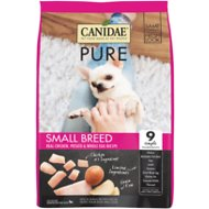 CANIDAE Grain-Free PURE Small Breed Real Chicken, Potato & Whole Egg Recipe Dry Dog Food, 4-lb bag
